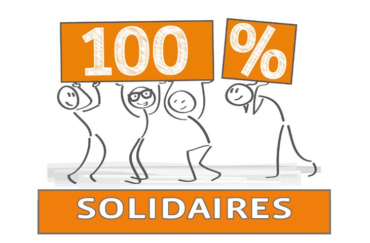 Solidarité Respect, liberté, démocratie des valeurs vécues au quotidien