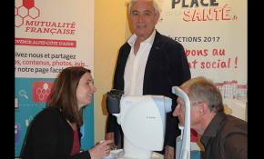Eqiupe mobile de Santé Visuelle de la Mutualité Française Paca SSAM