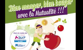 Bien bouger et bien Manger pendant Marseille capitale européenne du sport