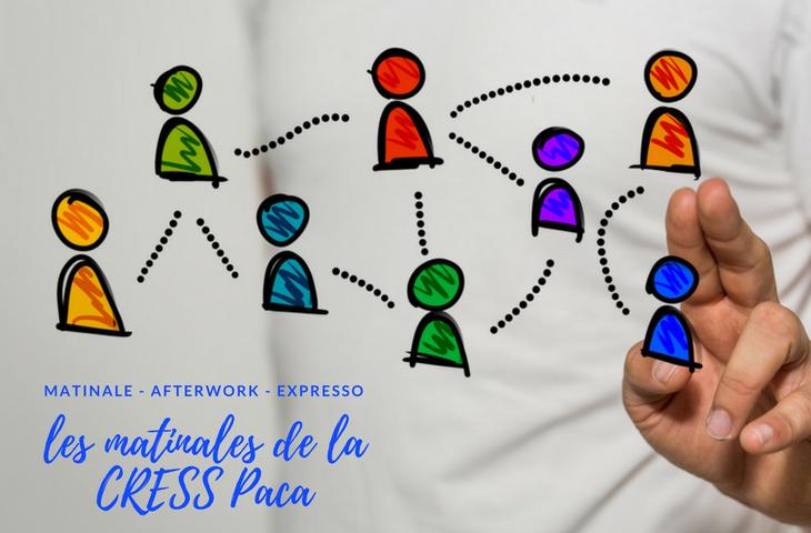 Les rencontres de l'économie sociale et solidaire en Paca avec les Matinales organisées par la CRESS Paca