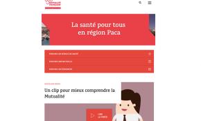 Le nouveau site Internet de la Mutualité Française Provence-Alpes-Côte d'Azur