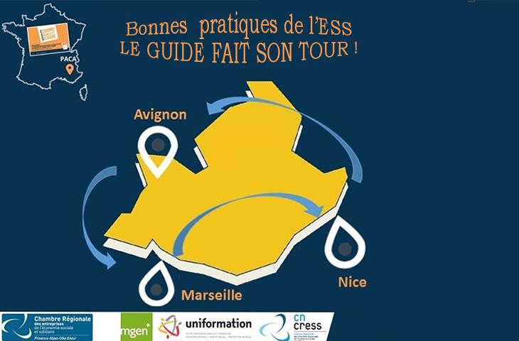 Le guide des bonnes pratiques de l'ESS fait son tour de France de présentation.