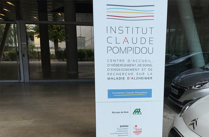 l'Ehapad mutualiste hébergé à l'Institut Claude Pompidou
