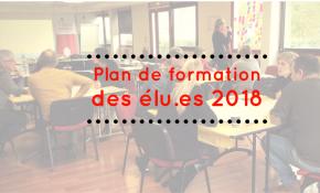 Un plan de formations des mutualistes pour 2018