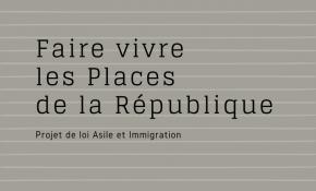 Mobilisation contre le projet de loi Asile et Immigration