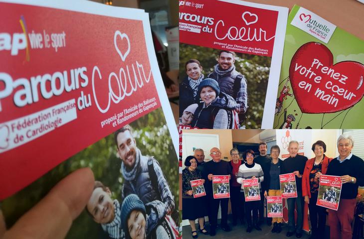Participez au Parcours du cœur 2018 à Charance