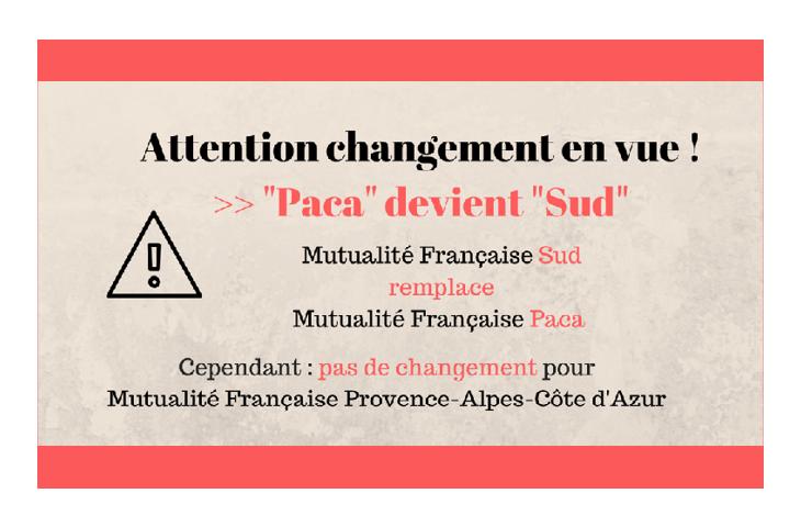 La Mutualité Française Paca devient la Mutualité française Sud