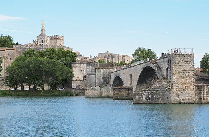 pont Saint Benezet et Palais des Papes