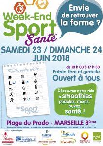 Affiche Festival sport santé Marseille