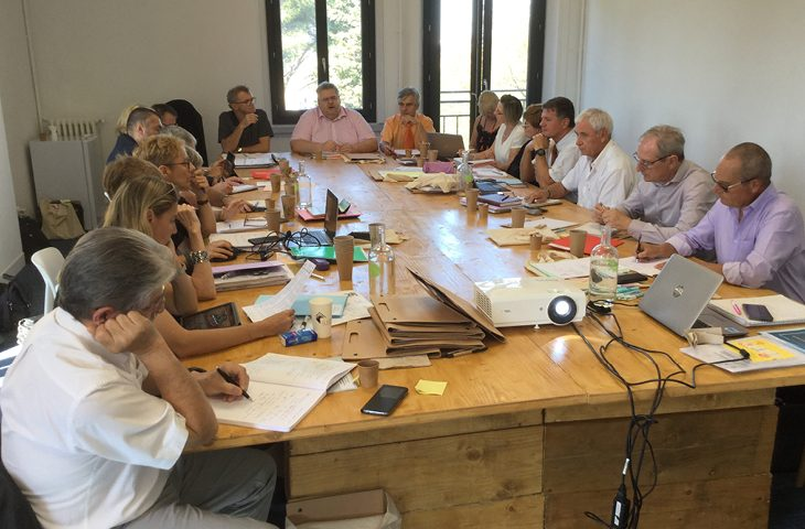 séminaire 2019 du bureau de la Mutualité Française Sud