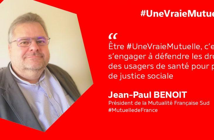 #unevraiemutuelle #JeanPaulBenoit