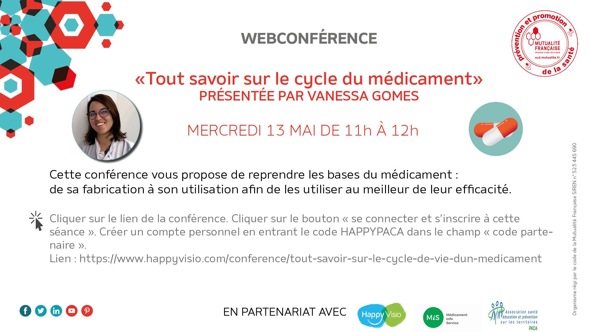 webconférence médicament