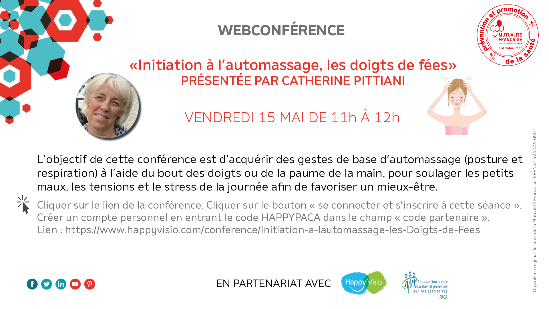 Webconférence automassage