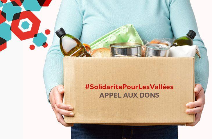 Mobilisons-nous pour les sinitrés des valles de la Roya et de la Vésubie
